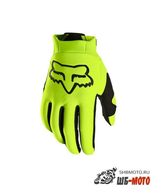 Мотоперчатки Fox Legion Thermo Glove Flow Yellow 2021