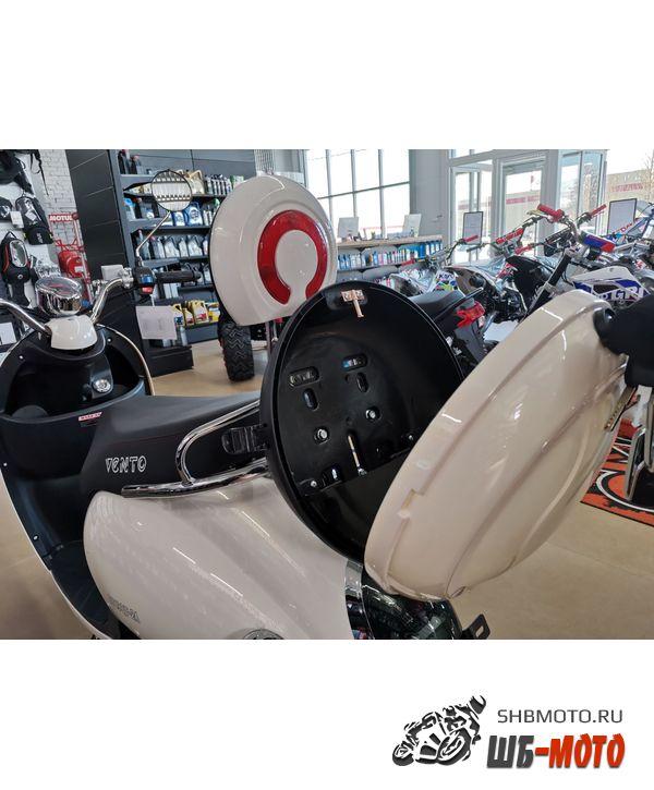 Скутер Vento Retro 49cc (150) Теплый белый