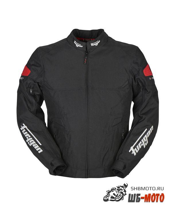FURYGAN Мотокуртка ATOM текстиль, Черный/Красный