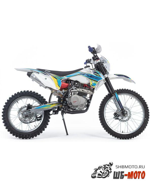 Мотоцикл кроссовый BSE Z2 250e 21/18 Blue 1