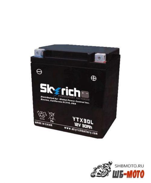 Аккумулятор SKYRICH YTX30L-BS