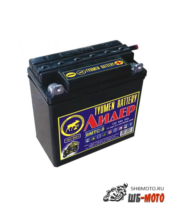 Аккумулятор Тюмень 6МТС-9 (болт)