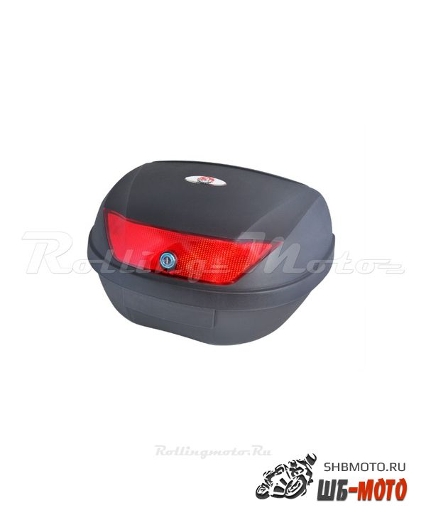 Кофр багажный SM-PARTS YM-0888 (43x58,5x30,5см 51л) черн. матовый