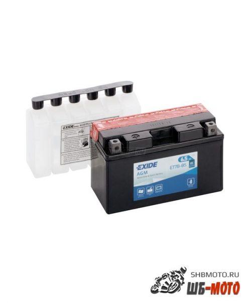 Аккумулятор EXIDE AGM YT7B-BS