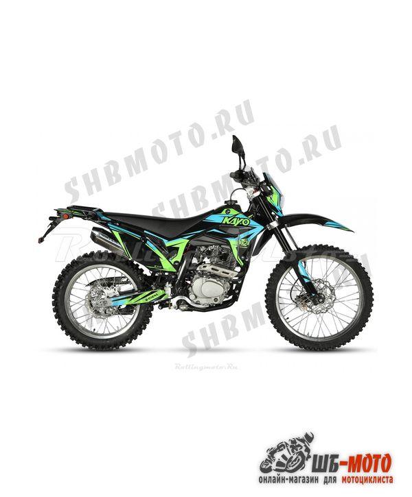 Мотоцикл KAYO T2 250 ENDURO 21/18 (2020 г.)
