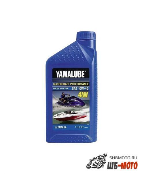 LUB-10W40-WV-12 Моторное масло YAMALUBE 4W SAE 10W40, 946мл