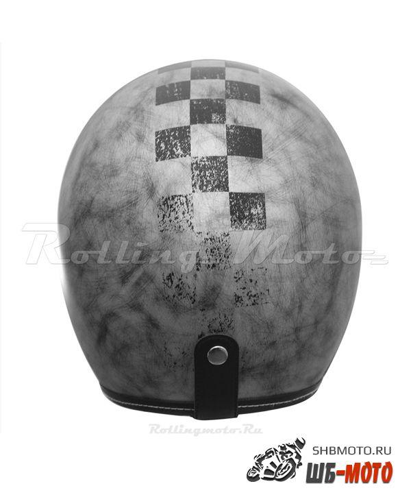 ORIGINE Шлем Primo Scacco серебристый матовый