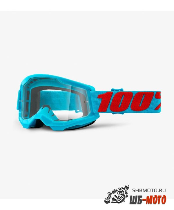 Очки 100% Strata 2 Goggle Summit / Clear Lens