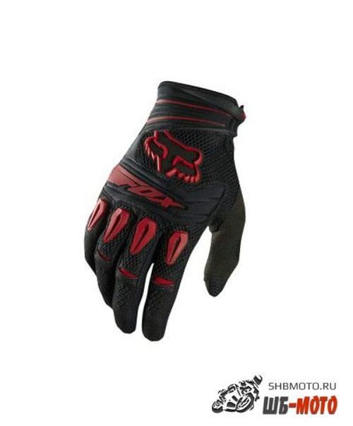 Fox Pawtector Glove мотоперчатки текстильные (ц. черн-красн)
