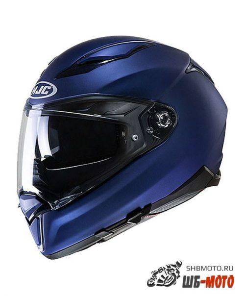 HJC Шлем F70 SEMI FLAT METALLIC BLUE