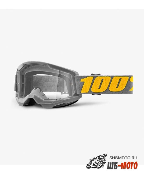 Очки 100% Strata 2 Goggle Izipizi / Clear Lens