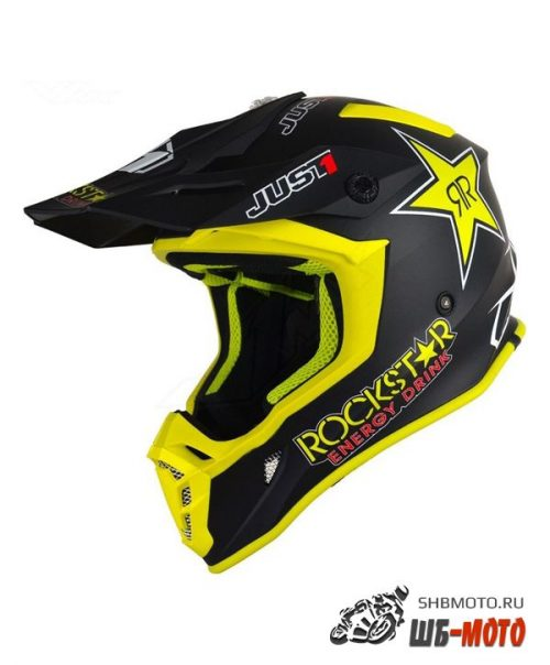 Шлем (кроссовый) JUST1 J38 BLADE Rockstar