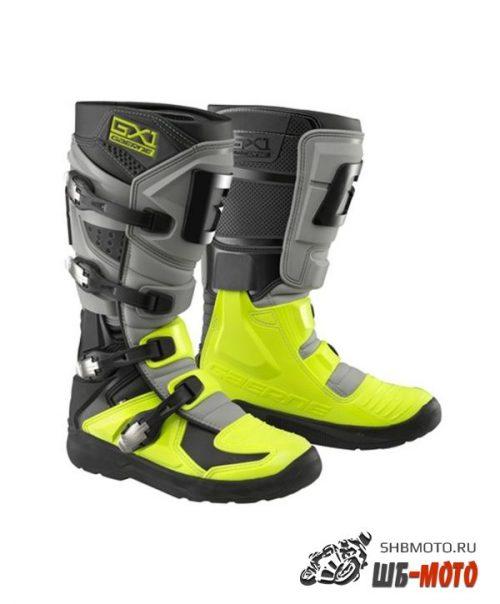 Кроссовые мотоботы Gaerne GX1 Evo Черно-Желтые
