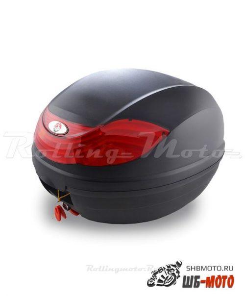 Кофр багажный SM-PARTS YM-0815 (40x42x31см 32л) черн. матовый