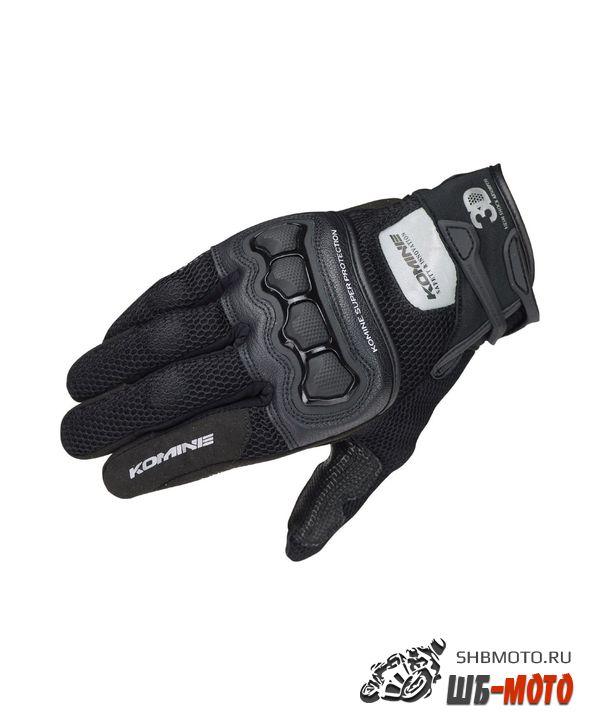 KOMINE Перчатки GK-215 protect 3D (ц., ченый)