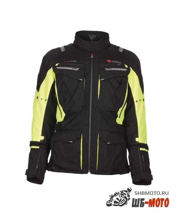 Куртка X-Renegade Modeka Black Yellow