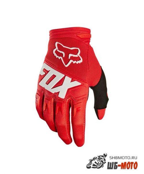 Fox Dirtpaw Race текстильные мотоперчатки (ц. красн)