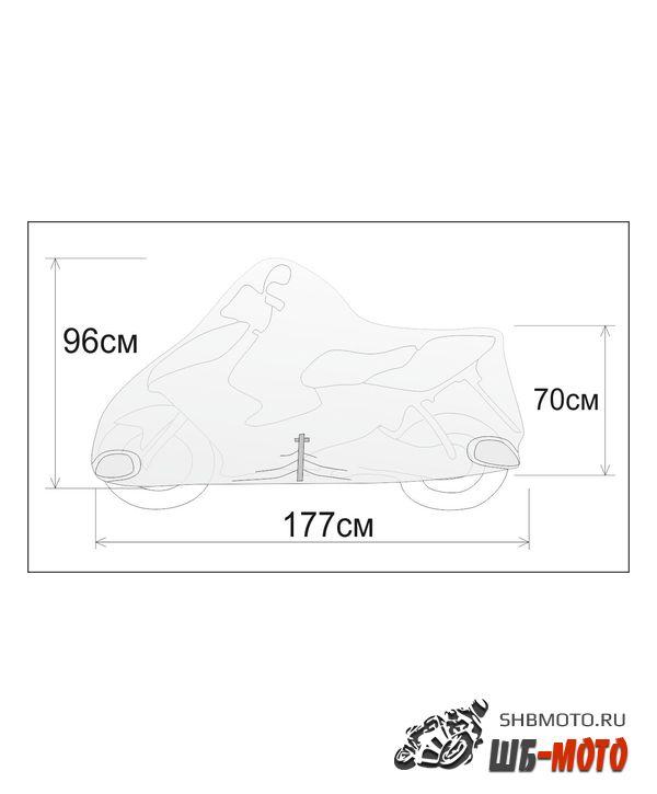 REXWEAR Чехол размер S (скутер 50 см3) DIO, TACT, LEAD