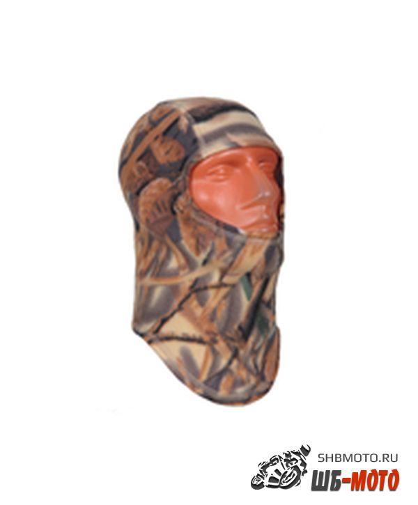 REXWEAR Подшлемник теплый флисовый камуфляж-лес