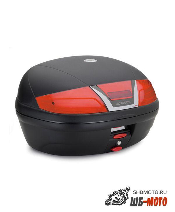 KAPPA Monolock Кофр 46 литров черный K46N