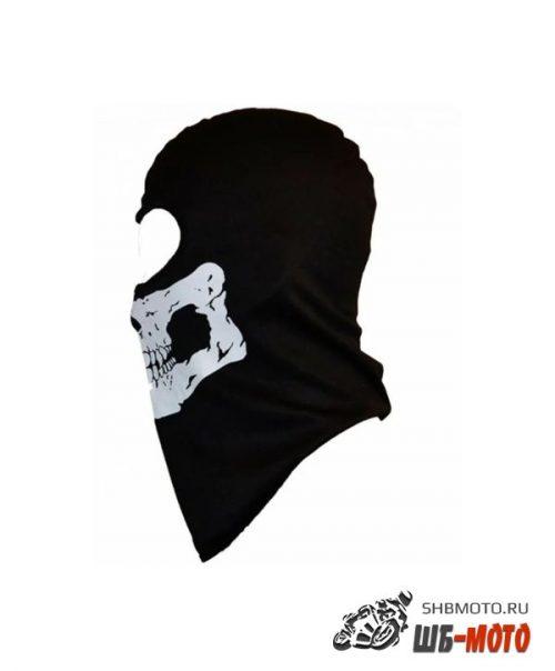 REXWEAR Подшлемник черн (рисунок череп)