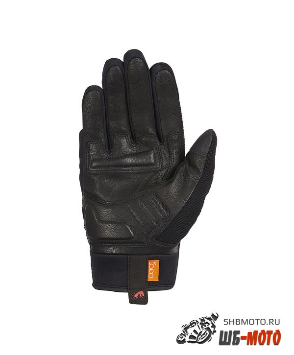 FURYGAN Перчатки JET D3O текстиль, Черный/Красный