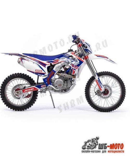 Кроссовый мотоцикл BSE M2 250e 21/18 3 Factory blue