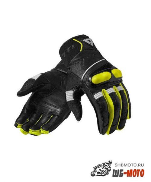 Revit Hyperion мотоперчатки кожаные (ц. черный.желт)