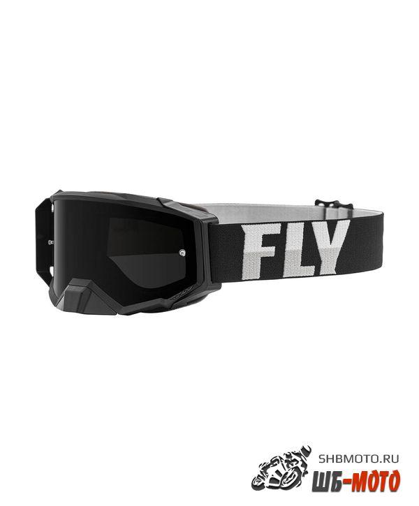 Очки для мотокросса FLY RACING ZONE PRO (2021) черный/белый