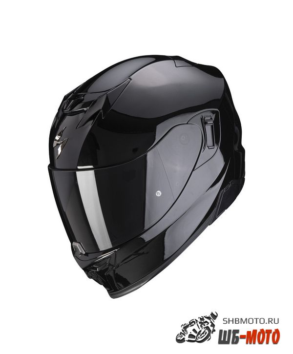 SCORPION EXO Мотошлем EXO-520 AIR SOLID, цвет Черный