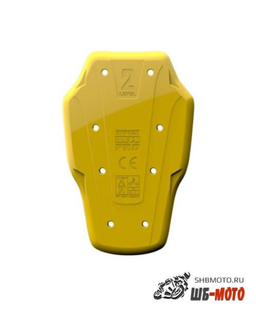 Защита спины встраиваемая POWERTECTOR IMPACT CORE PRO B, цвет желтый, M