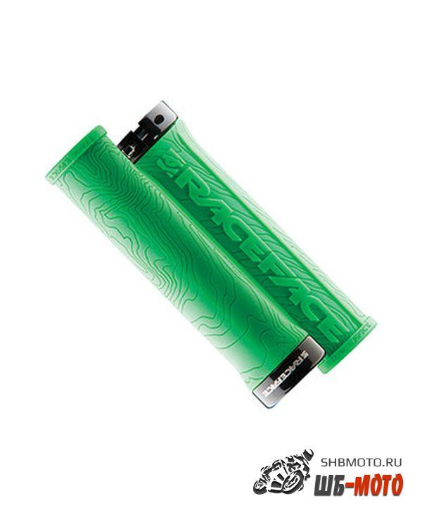Ручки руля Race Face Half Nelson Lock On Grips Green
