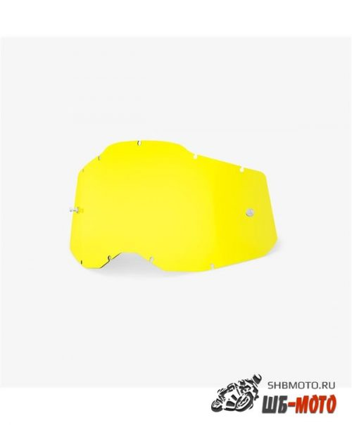 Линза 100% RC2/AC2/ST2 Replacement Lens Yellow