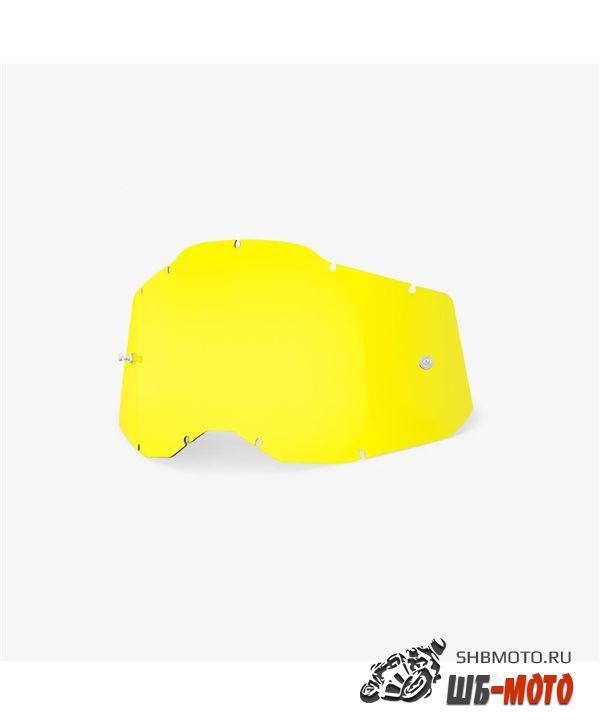 Линза 100% RC2/AC2/ST2 Replacement Lens Yellow