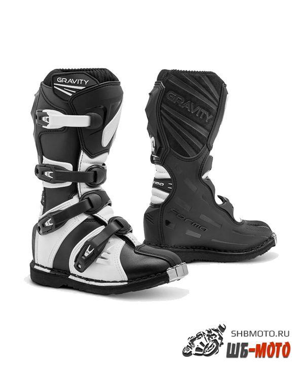 FORMA Ботинки GRAVITY BLACK/WHITE
