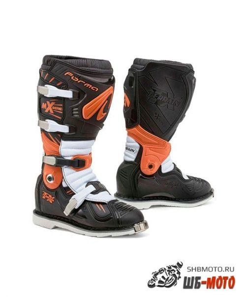 FORMA Ботинки TERRAIN TX BLK/ORANGE/WHITE