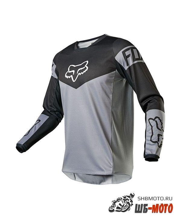 Мотоджерси Fox 180 Revn Jersey Steel Grey, 2021