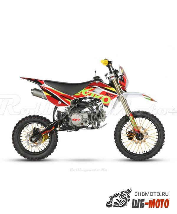 Питбайк KAYO BASIC YX150 17/14 KRZ Rolling Moto (2020 г.)