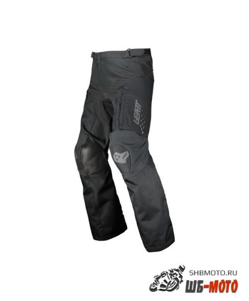 Штаны для мотокросса Leatt Moto 5.5 Enduro черные