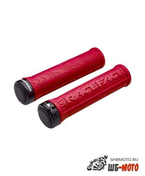 Ручки руля Race Face Half Nelson Lock On Grips Red