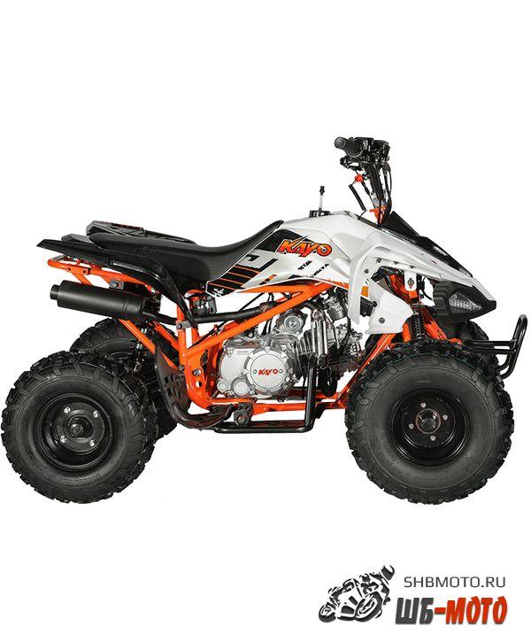 Квадроцикл KAYO PREDATOR (2020 белый пластик)
