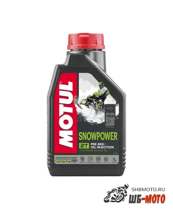 MOTUL SNOWPOWER 2T (Бочка 60л) На разлив