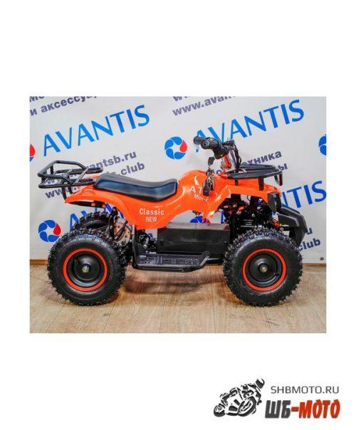 Детский квадроцикл ATV Classic 800w new электрический (Оранжевый)