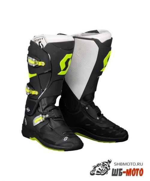 Мотоботы SCOTT MX 550 black/green
