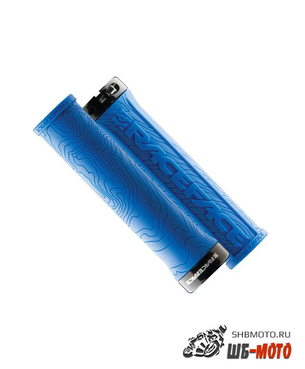 Ручки руля Race Face Half Nelson Lock On Grips Blue