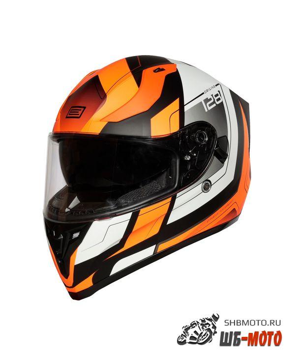 ORIGINE Шлем Strada Advanced Hi-Vis оранжевый/черный матовый