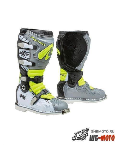Ботинки FORMA TERRAIN TX GREY/WHITE/YELLOWFLUO