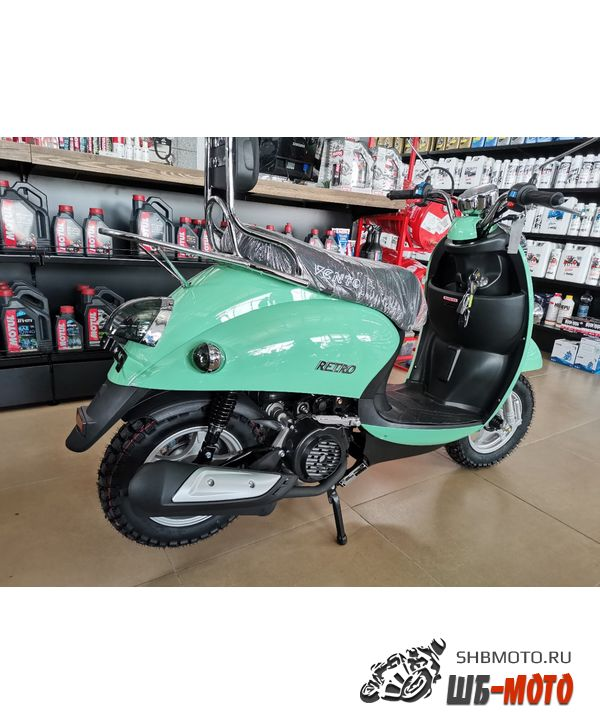 Скутер Vento Retro 49cc (150) Бирюзовый