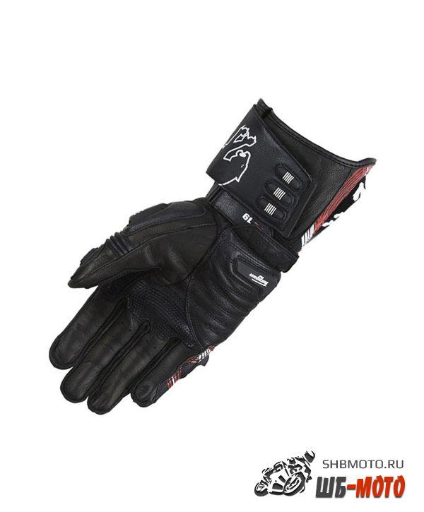 Furygan AFS19 мотоперчатки Черн-Бел