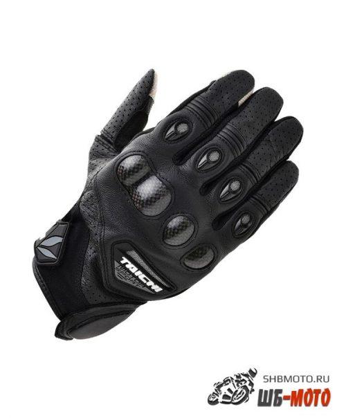 RS Taichi RST-417 Gloves кожаные мотоперчатки (ц. черный)